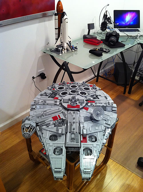 The Ultimate Collectors Lego Millennium Falcon 10179 Living Digitally