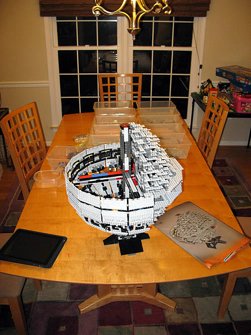 the lego death star ii 10143 living digitally