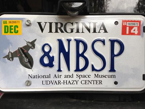 nbsp_license_plate